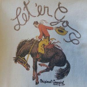 Western Waffle Weave Tshirt
